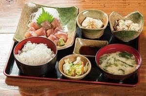 レストラン幻魚亭 いわな刺身定食